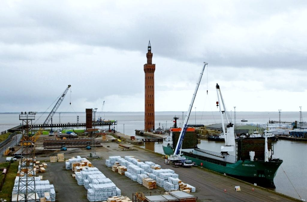 DAN Shipping Involved in Development of ABP's new £25m Grimsby Riverside Terminal