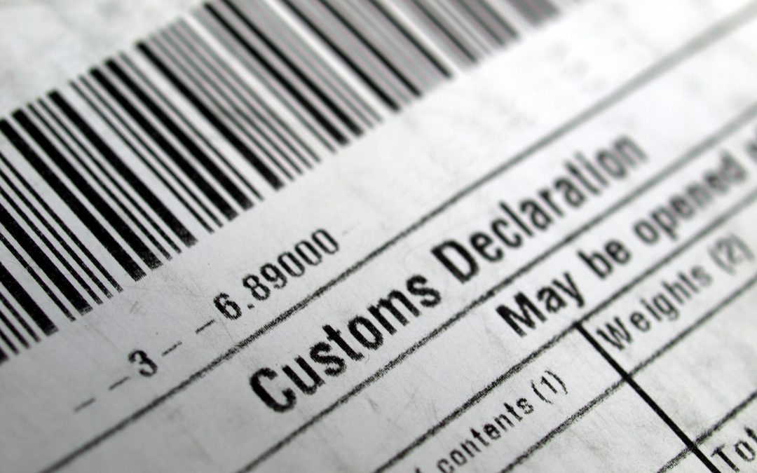 What are customs commodity codes and why do I need them?