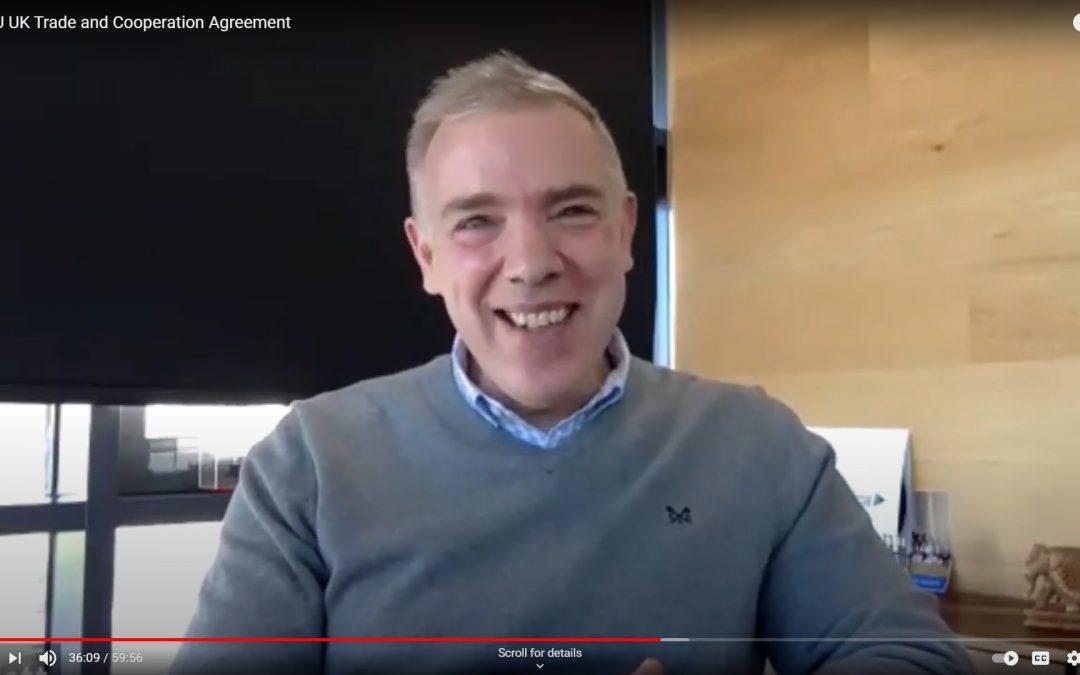 John Good Logistics Chairman Alan Platt discusses reaction to Brexit in online webinar – watch now
