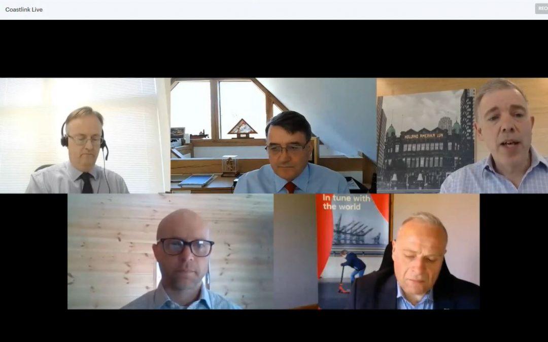 Alan Platt, John Good Logistics Chairman highlights post-Brexit success for short sea shipping in Coastlink Live webinar