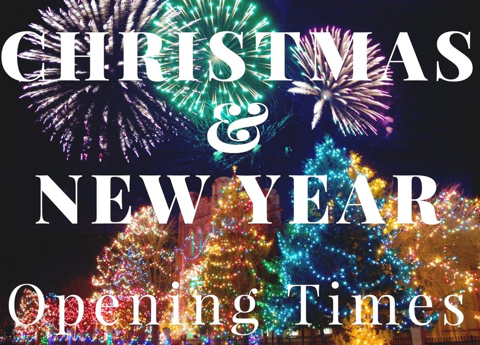 Office Opening Times during Christmas and New Year