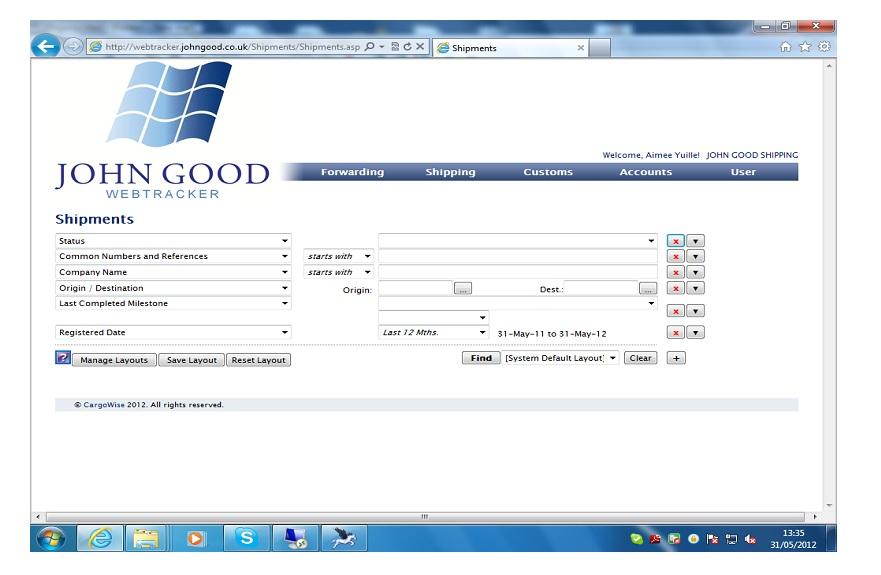Track & Trace with John Good Logistics