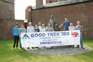 Good Trek 180 raises £15,000 for the RNLI