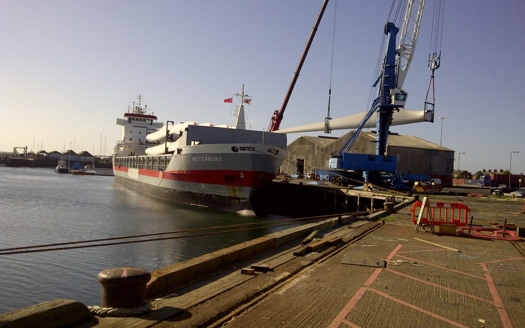DAN Shipping Plays Vital Role in Construction of Wind Farm Site