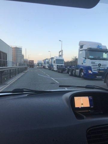 Liverpool Port Congestion