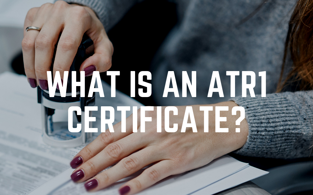 What is an ATR1 certificate?