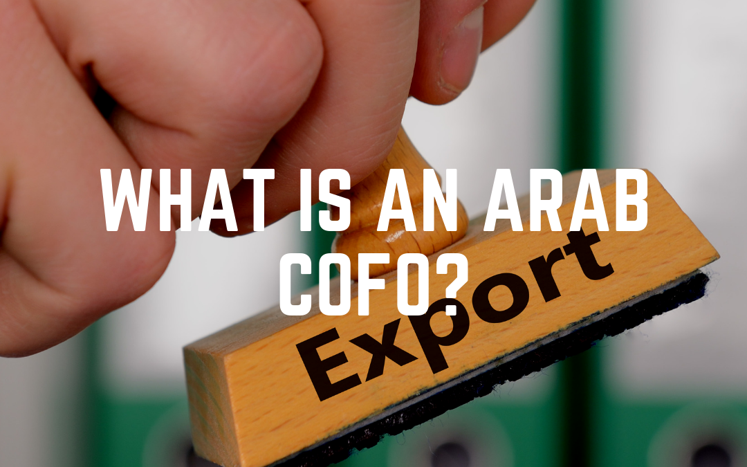 What is an Arab CofO?