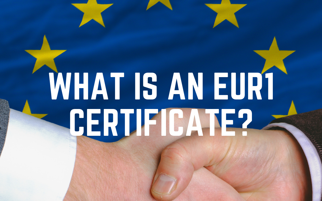 What is an EUR1 certificate?